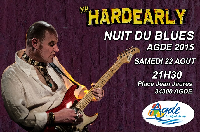 Nuit du Blues   AGDE 2015