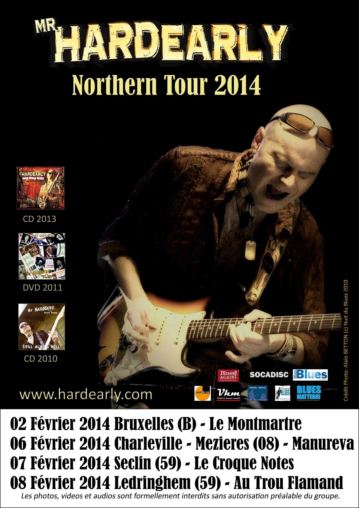 Northern Tour 2014