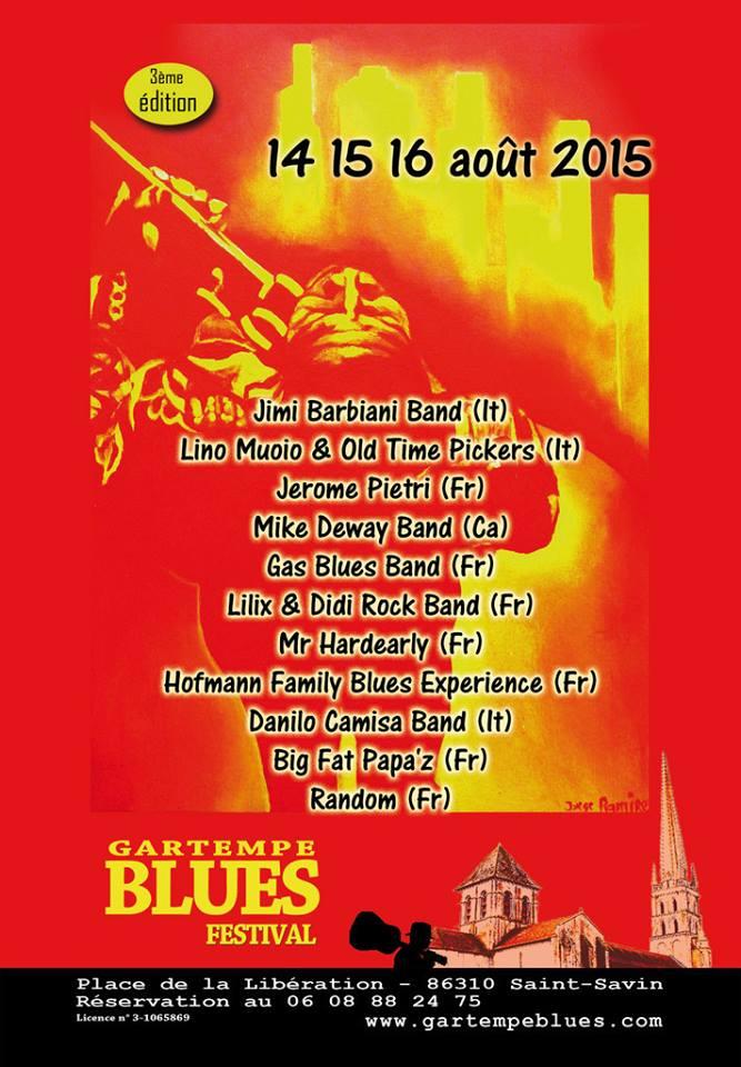 Gartempe Blues Festival 2015